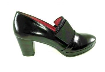 Zapato cara alta piel N