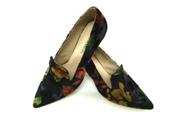 Zapato cara alta colores