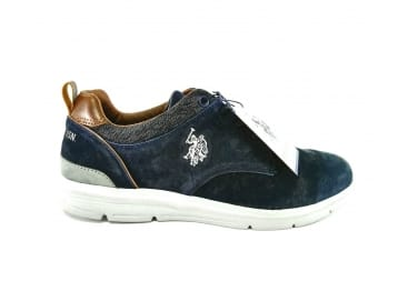 Zapatilla deportiva azul