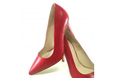 Salón liso rojo