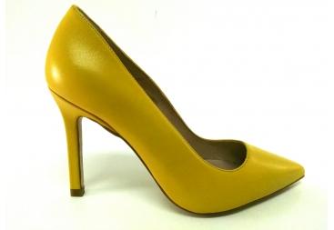 Salón liso amarillo