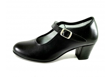 zapato baile negro