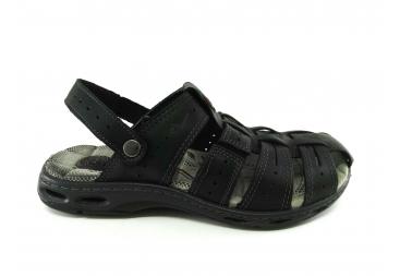 Sandalia piel cerrada