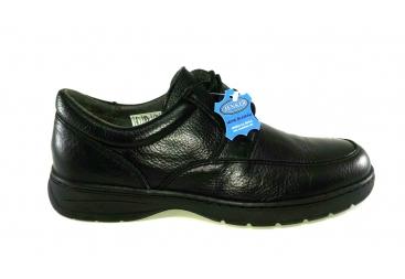 Zapato piel cordoneras