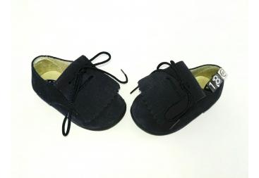 Zapato serraje azul marino