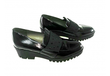 Zapato piel charol N