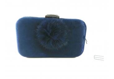 Bombonera Pompón Azul