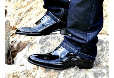 Zapato Charol negro 3