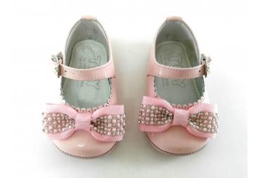 Zapato Charol piel rosa