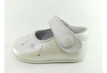 Zapato Piel Nacar
