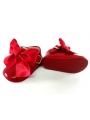 Zapato charol piel rojo