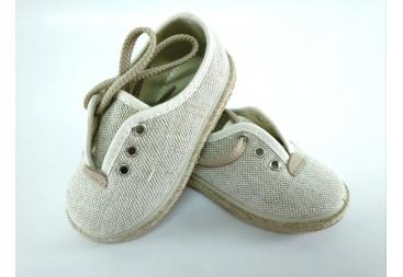 Zapato niño en lino