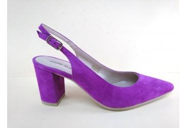 Zapato piel vuelta bugamvilla Alarcón