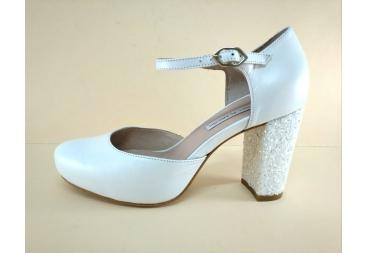 Zapato piel nacarado Alarcón