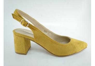 Salón destalonado amarillo