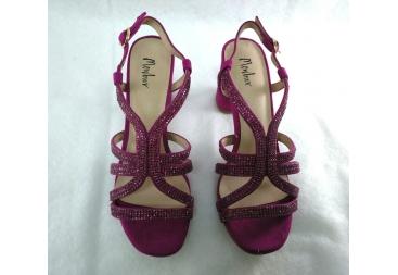 Sandalia color bugamvilla