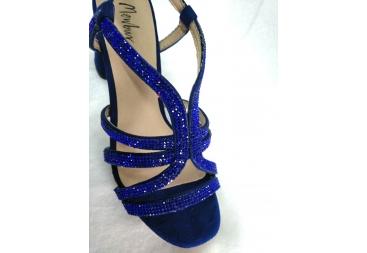 Sandalia color azulón