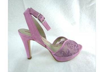 Sandalia en color malva Laura Amat