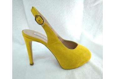 Zapato ante amarillo Angel Alarcón