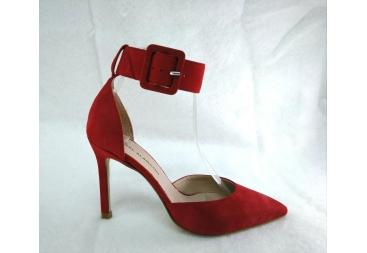 Zapato en ante rojo Alarcón