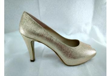 Zapato retro platino Ana Román