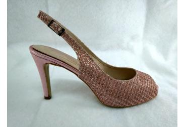Zapato rosa Ana Román