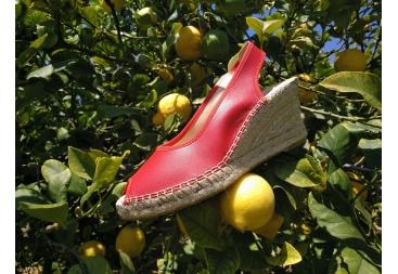 Zapatilla yute rojo Salvi