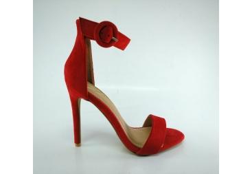 Sandalia en rojo