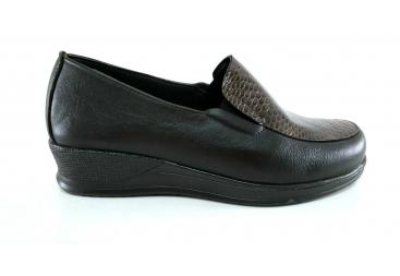 Torres zapato marrón