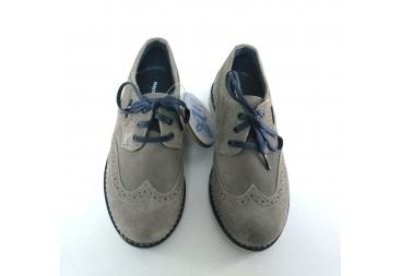 Zapato blucher en ante color arena Mayoral