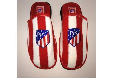 Zapatilla atlético de Madrid de verano rizo