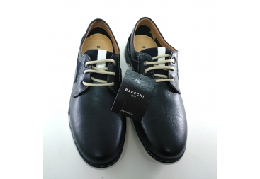 Zapato azul marino caballero