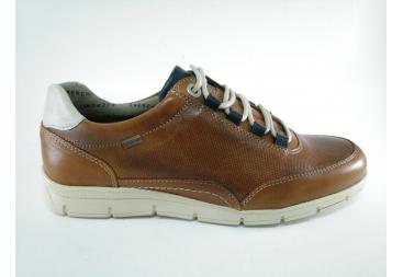 Zapato cordonera en color cuero Bearchi