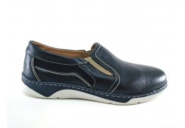 Zapato de caballero en azul marino Luisetti