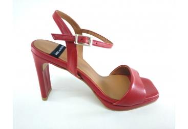 Sandalia de señora rojo Alarcón