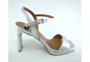Alarcón sandalia plata