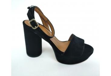 Alarcón sandalia señora en negro