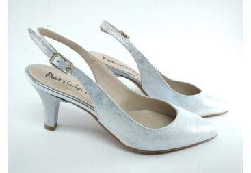 Patricia Miller zapato en plata