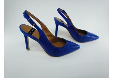 Alarcón zapato de señora azulón