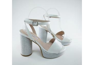 Alarcón Zapato de señora nacar