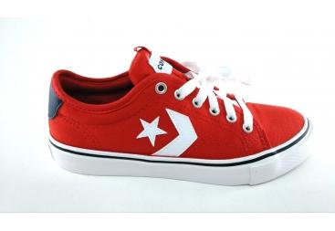 Converse zapatilla en color rojo