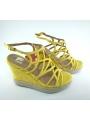 Bluebags sandalia de señora amarillo
