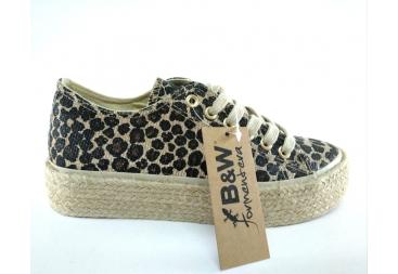 BYW Lona leopardo señora