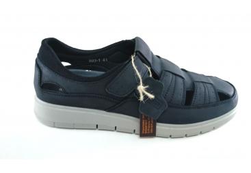 Vicmar sandalia de caballero azul
