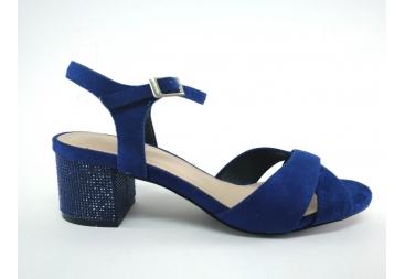 Menbur sandallia señora en azulón