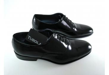 Tubolari zapato caballero charol rayitas
