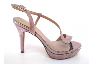 Menbur Sandalia señora color rosa nude