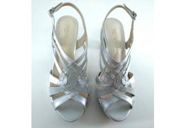 Prestigio sandalia en plata