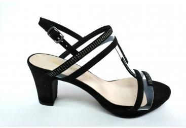 Prestigio sandalia negra