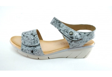 Valerias sandalia plata